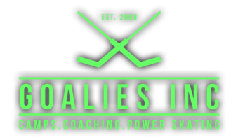 Goalies Inc - Camps . Coaching . Power Skating Logo